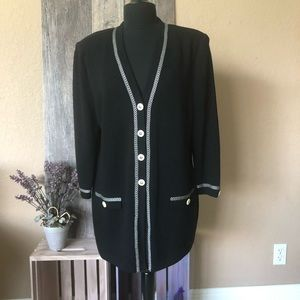ST. JOHN VINTAGE SWEATER CARDIGAN Jacket 12